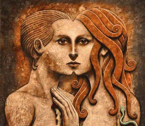 A l'origine, les âmes soeurs appartiennent au même groupe d'âmes, c'est-à-dire un groupe d'âmes liées entre elles depuis la première incarnation. Le lien entre les âmes appartenant au même groupe est spécial, ce qui se manifeste dans les contacts entre elles.