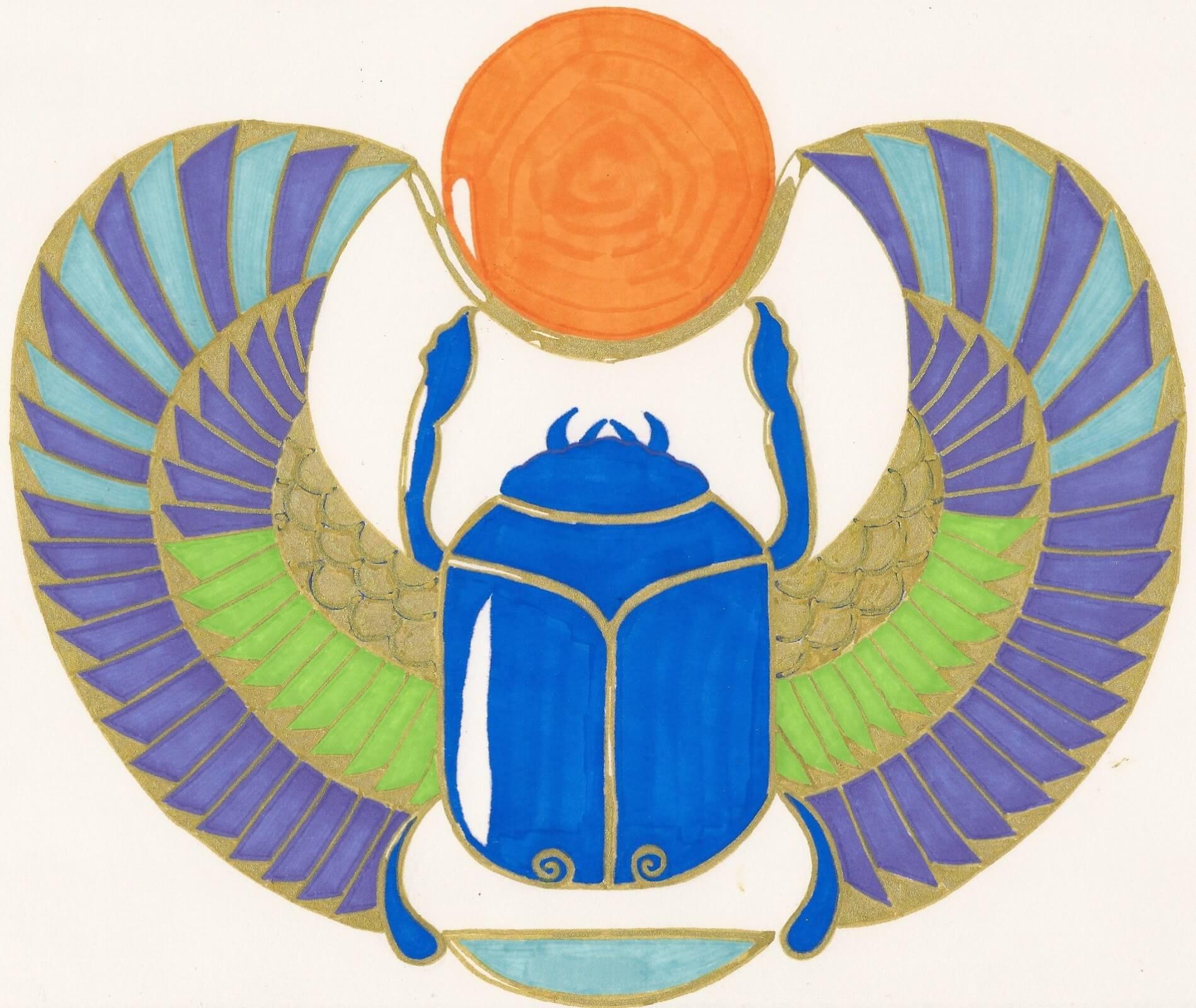 symbolisme animal : Le scarabée