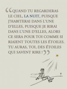 Le Petit Prince, ouvrage, vendu à plus de 145 millions d'exemplaires dans le monde et 12 millions d'exemplaires en France, est traduit en 270 langues et dialectes