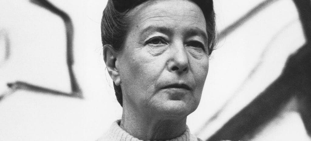 connais-toi toi-même Portrait de Simone de Beauvoir