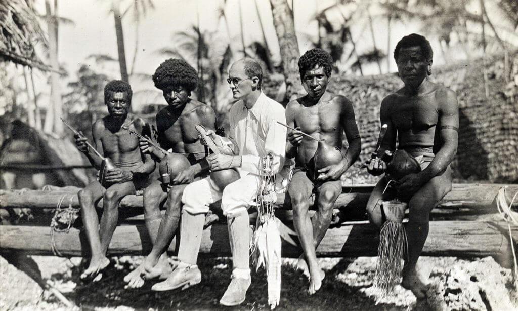 Le sociologue Malinowsky a longuement étudié les sociétés matriarcales de Trobriand Islands Credit: Wellcome Library, London. Wellcome Images
