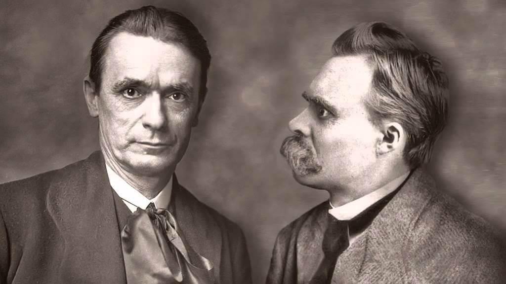 Waldorf, Montessori ; Steiner et Nietzsche, 2 géant qui se sont rencontrés et ont eu des échanges d'une intensité karmique