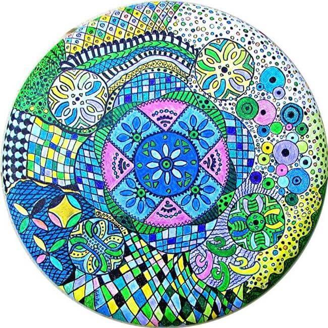 Zentangle, dessin de méditation