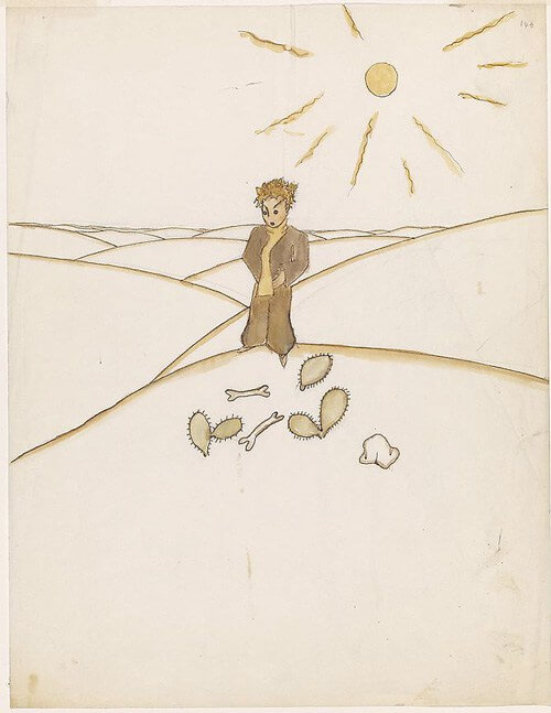 Désert solitaire, Le Petit Prince, Antoine de Saint Exupéry