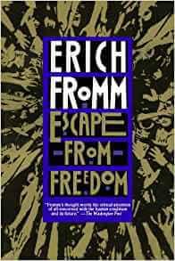 Paradoxe de la liberté Escape from Freedom (Anglais) Broché – 15 septembre 1994 de Erich Fromm (Auteur)